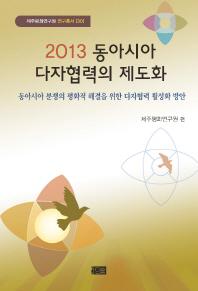 동아시아 다자협력의 제도화(2013)