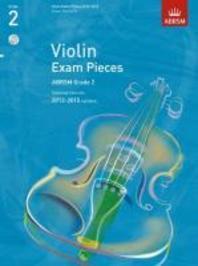 Violin Exam Pieces G 2 Score Part & CD