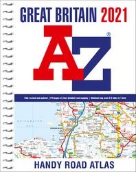 Great Britain A-Z Handy Road Atlas 2021 (A5 Spiral)