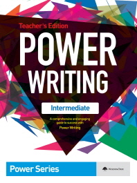 Power Writing(Intermediate)(Teacher s Edition)(파워 라이팅 인터미디에이츠)