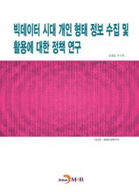 빅데이터 시대 개인 형태 정보 수집 및 활용에 대한 정책 연구