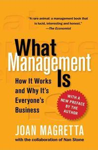 What Management Is (Reissue)