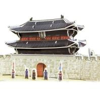 입체퍼즐 복원 숭례문