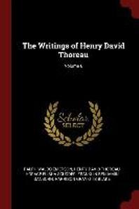The Writings of Henry David Thoreau; Volume 6