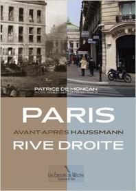 Paris Rive Droite Avant-Apres Haussmann