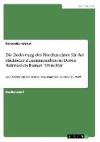 """Die Bedeutung Des Naschmarktes Fur Das Stadtische Zusammenleben in Doron Rabinovicis Roman """"Ohnehin"""""""