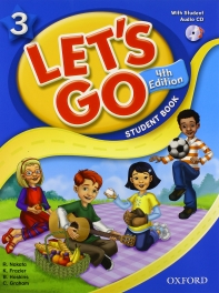 Let's Go. 3 Student Book (with CD)