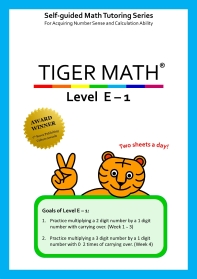 Tiger Math Level E-1
