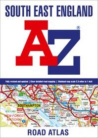 South East England A-Z Road Atlas
