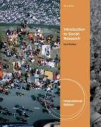 Introduction to Social Research 5/E (Paperback)