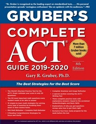 Grubers Complete ACT Guide 2019-2020(Paperback)(Paperback)(Paperback)