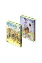 타샤 튜더 동화책 세트: 코기빌 마을 축제+코기빌 납치 대소동