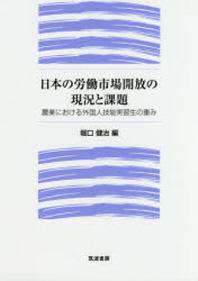 日本の勞動市場開放の現況と課題 農業における外國人技能實習生の重み