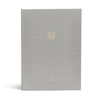 She Reads Truth Bible-CSB Grey Linen Indexed