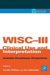 WISC-III Clinical Use and Interpretation