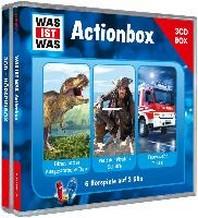 """WAS IST WAS 3-CD-Hoerspielbox """"Action und Abenteuer"""""""