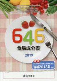 646食品成分表 2019