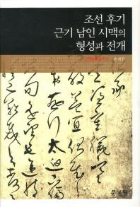 조선 후기 근기 남인 시맥의 형성과 전개