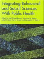 Integrating Behavioral Social Sciences with Public Health