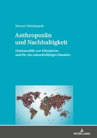 Anthropozaen und Nachhaltigkeit