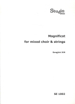 MAGNIFICAT FOR MIXED CHOIR STRINGS
