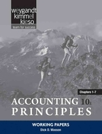 Working Papers Chapters 1-7 to Accompany Principles of Accounting
