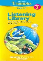 READING TRIUMPHS LISTENING LIBRARY UNITS 1-6 (Grade 2)