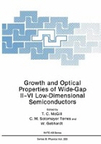 Growth and Optical Properties of Wide-Gap II-VI Low-Dimensional Semiconductors