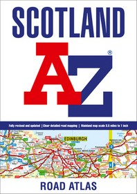 Scotland A-Z Road Atlas