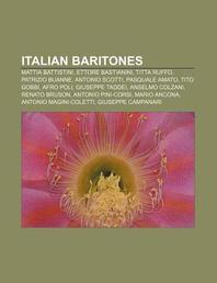 Italian Baritones