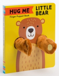 Hug Me Little Bear: Finger Puppet Book