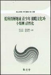 저소득층지역 청소년 여가문화와 소집단 활성화(아산재단 연구총서 제45집)
