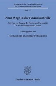 Neue Wege in der Finanzkontrolle.