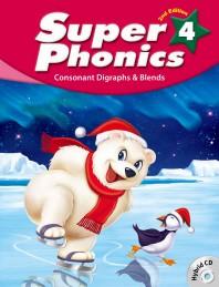 Super Phonics(슈퍼 파닉스). 4(SB)