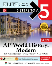 5 Steps to a 5: AP World History: Modern 2021 Elite Student Edition