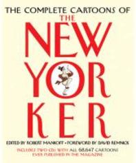 The Complete Cartoons of the New Yorker [With CDROM]