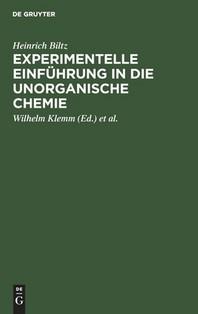 Experimentelle Einf Hrung in Die Unorganische Chemie