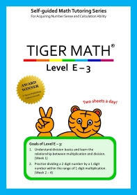 Tiger Math Level E-3
