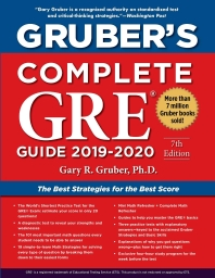 Grubers Complete GRE Guide 2019-2020