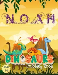 Noah Dinosaures Coloring Book