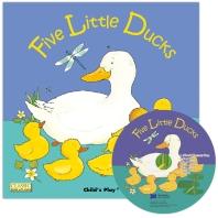 노부영 마더구스 세이펜 Five Little Ducks  (원서 & CD)