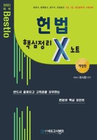 Bestlo 헌법 핵심정리 X노트(2021)