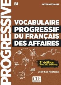 (신판)Vocabulaire progressif du francais des affaires - Niveau intermediaire - Livre + CD - 2eme edi