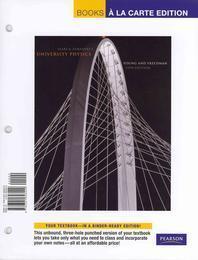 University Physics with Modern Physics, Books a la Carte Edition