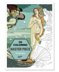 30 Coloring Master Piece(컬러링 마스터피스)