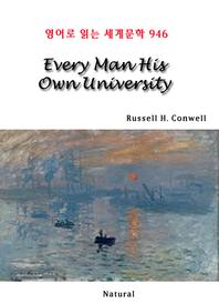 Every Man His Own University (영어로 읽는 세계문학 946)