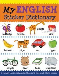 My English Sticker Dictionary