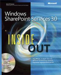 Windows Sharepoint Services 3.0 Inside Out [With CDROM]
