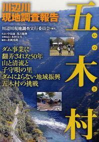 五木村 川邊川現地調査報告