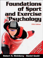 Foundations of Sport and Exercise Psychology W/Web Study Guide-5th Edition, 5/U/E